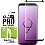 Für Galaxy S9 Panzerglas Schutzfolie,Aoatem[Kratzer][Blasen und Fingerabdruck][9H Härte][HD Anti-Öl][Einfaches Anbringen] Panzerglasfolie Displayschutzfolie für Samsung Galaxy S9