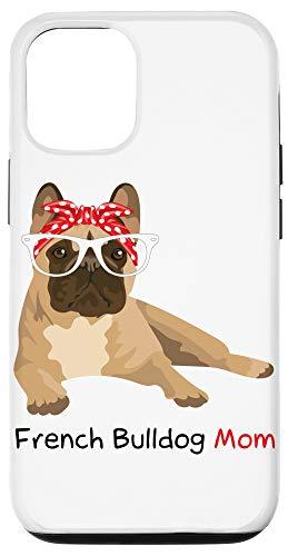 iPhone 12/12 Pro French Bulldog Mom Bandana Womens Frenchie Case