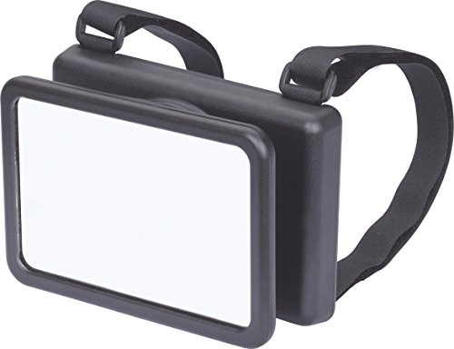 hr-imotion XL Baby Beobachtungsspiegel für Babyschalen [Made in Germany | Universell passend | Splitterschutzglas | Einfache Montage] - 10411001