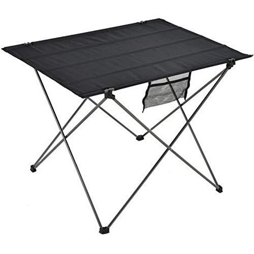 Zentto Tragbarer Picknicktisch Ultraleichter Klapptisch für den Außenbereich,grau