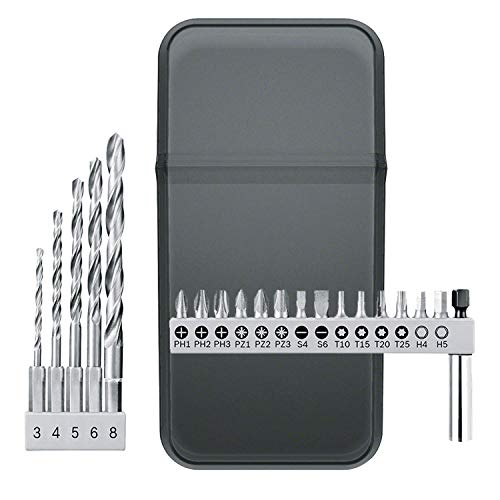 Bosch YOUseries 1600A01D63 Bosch 20-Piece bit Set (Accessory for YOUseries Drill)