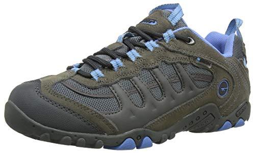Hi-Tec Penrith Low Waterproof, shoes femme - Gris (Grey/charcoal/cornflower), 37 EU (4 UK)