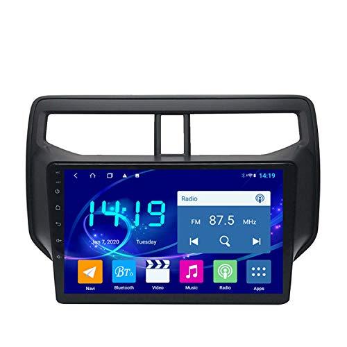 BBGG GPS 4GB + 64 G De Navegación por Satélite Estéreo De 10 Pulgadas De 10 Pulgadas con Bluetooth Teléfono Manos Libres/De Inversión Video/DVD Radio/FM/Am/WiFi, Adecuado para Toyota(Size:4G+64G)