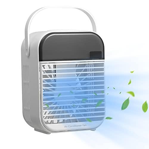 Condizionatore d'aria portatile, Smart Digital Display Bidizionatore d'aria portatile con 3 velocità dell'aria, uso wireless Avvolgicabile Air Evaporative Air Refrig Non-battery models