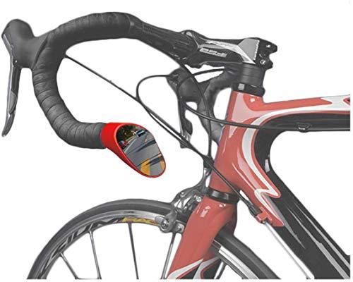 Sprintech Drop Bar Mirror Red Pair