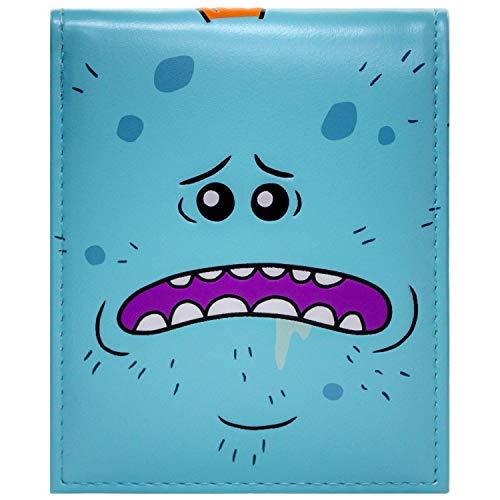 Cartera de Rick & Morty Mr Meeseeks Existence is Pain Azul