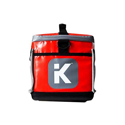 KitBrix Bag Backpack - Organized Kit for Triathlon Swimming Running Cycling OCR - Red