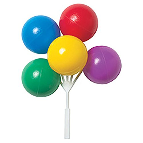 Bright Primary Colored Balloon Clusters for Cakes or Cupcakes! by DecoPac