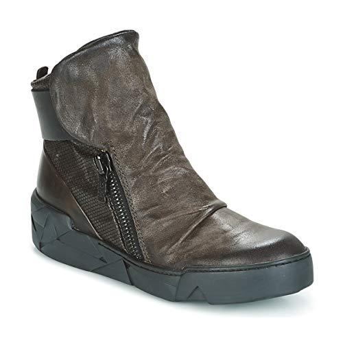 Airstep/A.S.98 Concept Botines/Low Boots Mujeres Marrón - 35 - Botas De Caña Baja Shoes
