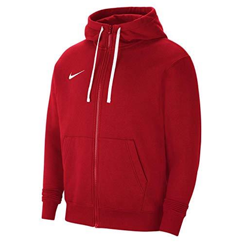Nike - Felpa con Cappuccio da Uomo Rosso University/Bianco/Bianco XL