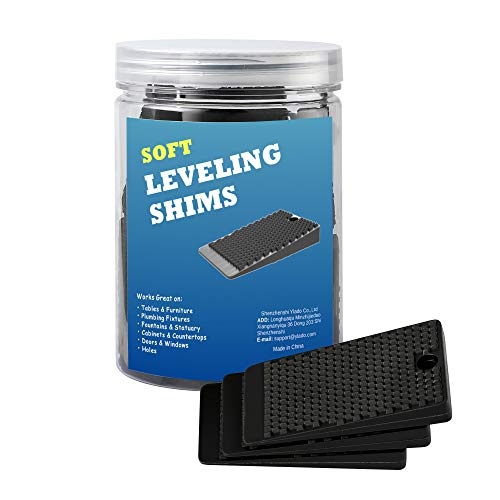 Yilador Table Shims 32 Pack, Premium Soft Furniture Levelers Restaurant Table Shims, Home Improvement DIY Levelers - Extreme Weight Capacity, Perfect for Doors, Windows, Sheds