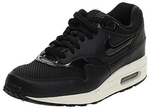Nike WMNS Air Max 1, Chaussures de Fitness Femme, Multicolore (Black/Black/Black/Summit White 039), 36.5 EU