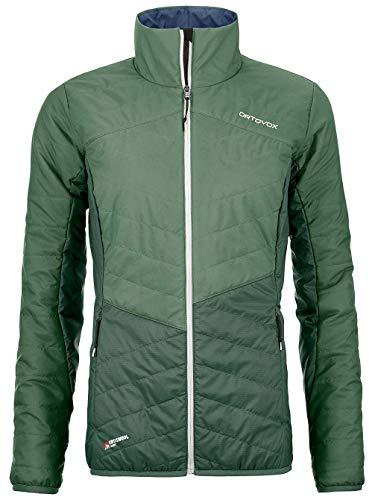 ORTOVOX Swisswool Dufour Jacket W Jacke, Damen, Green ISAR, S
