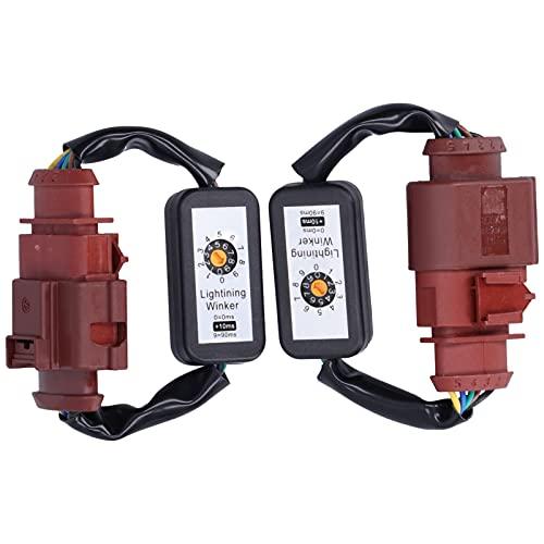 Luces traseras LED Adaptador de señal de giro dinámica Kits de módulo intermitente de arnés para A4 S4 Avant B8.5 Facelift 2013-2016, 5 pines