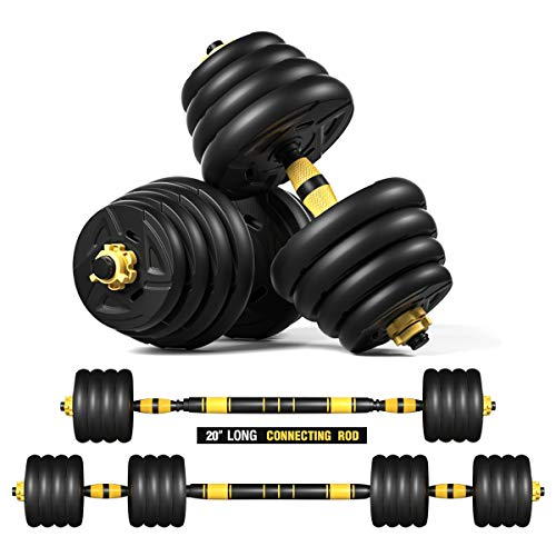 Tespon Adjustable Fitness Dumbbells Set
