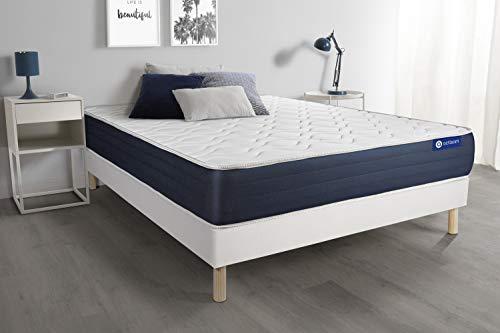 Bed base with Actilatex sleep mattress 130x210cm