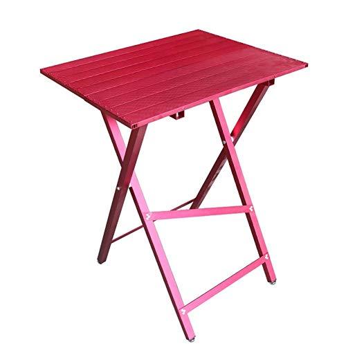 Jlxl Huisdier Verzorging Tafel, Anti-Roest Antislip Opvouwbare Hond Verzorging Werkbank, voor Verzorging Kleine En Medium Huisdieren, 60 * 45 * 81cm, roze