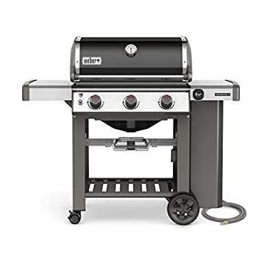 Weber 66010001 Genesis II E-310 Natural Gas Grill, Black