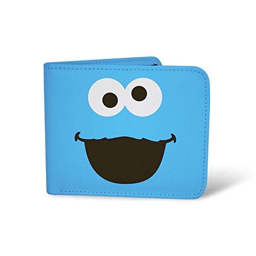 Elbenwald Sesamstraße Cookie Monster Krümelmonster Portmonee Geldbörse Brieftasche in Geschenkverpackung