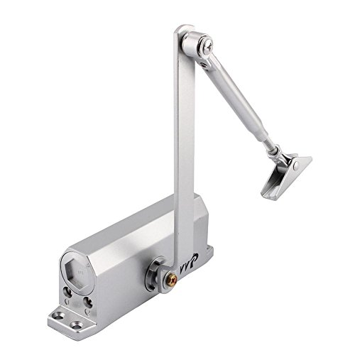 Cierre de Puerta con Amortiguador Hidráulico Resistente al Fuego Velocidad Ajustable para Puerta Peso 60-80kg Ancho 600-1200mm
