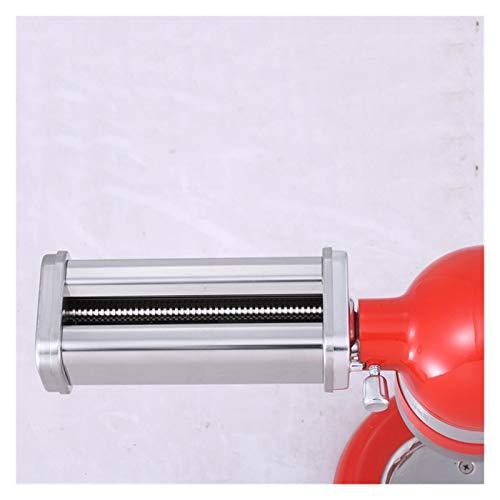 WLKJ Geschirr Spaghetti Maschinenzubehör, verwendet for Breit Noodle Messer Schneidemaschine Roller Befestigung, gebraucht for Slim Mixer Küchenhilfs Pasta Food Processor (Color : B)