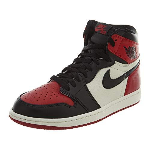 Air Jordan 1 Retro High OG 'BRED Toe' - 555088-610 - Size 14 -