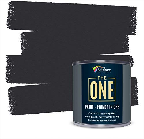 The One Paint - Satin Finish - Multi Surface Paint 250ml (Charcoal)
