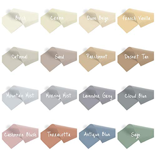 InsideMyNest Muted Neutral Coloured Tissue Paper Sheets Premium Quality (75x50cm) (Morning Mist, 20 Sheets)
