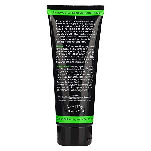 Gel de masaje, efecto quemagrasas Seguro de usar Mejora la función de relajación Adelgazante para mejorar la piel