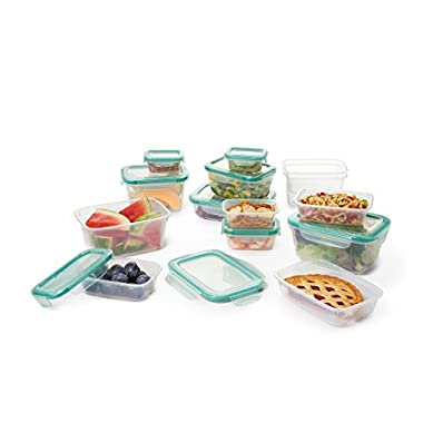 OXO Good Grips 28 Piece Smart Seal Leakproof Food Storage Container Set