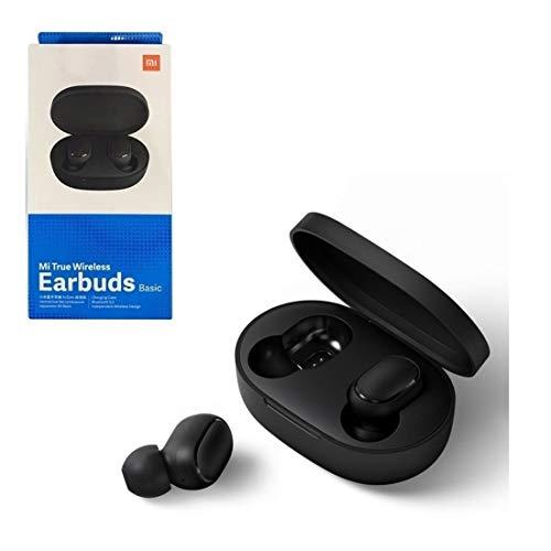 Fone de Ouvido Xiaomi Redmi Airdots Bluetooth Earbuds Sem fio, botões físicos e comando de voz