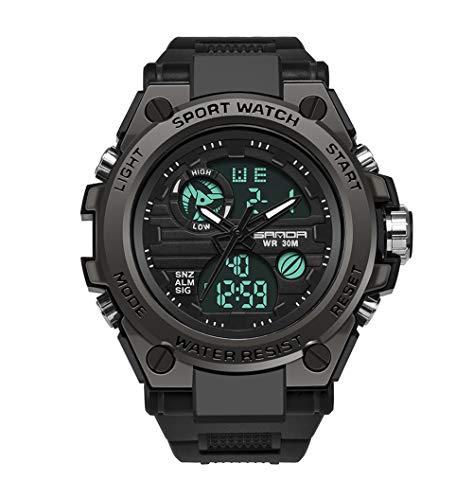 Herren Uhren Digitaluhr Männer Militär Sportuhr Nachtleuchtende Wasserdicht Armbanduhren Mann Multifunktions Digital Uhr