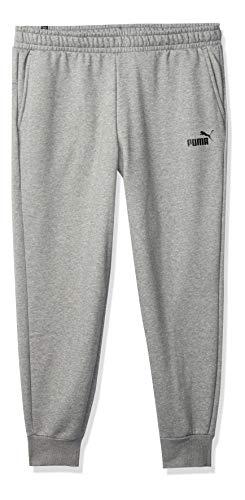PUMA Pantalones de Forro Polar para Hombre, Negro algodón, Medium