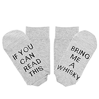 Seafirst If You Can Read This Socks Bring Me Whisky Men Novelty Socks Accessories - Perfect Idea Father Boyfriend Husband