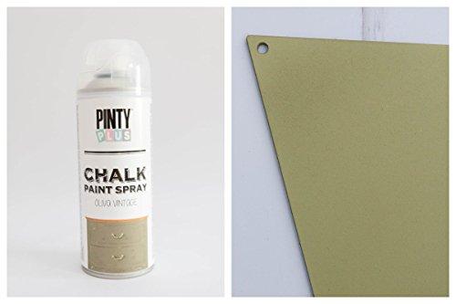 Pintyplus Chalk Sprühfarbe 400ml - OLIVE VINTAGE, 0,6