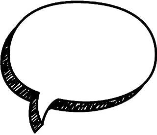 Best speech bubble rubber stamp Reviews