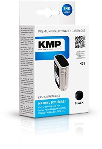 KMP Tintenkartusche fur HP Officejet Pro K550 H31 black
