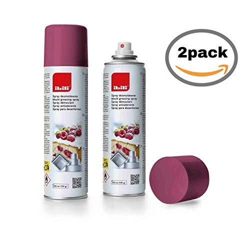 IBILI 746300 2 x Pack Spray DESMOLDEANTE Antiadherente 250 ML
