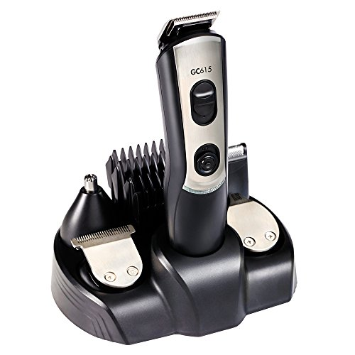Gama Italy Professional T21.GC615 Tondeuse à Cheveux 5 Réglages de Coupe Lame en Acier Inox
