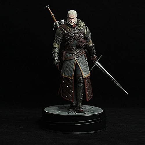 Factorydiy Animación Personaje Modelo The Witcher 3 Wild Hunt Geralt 2a Generación Grand Master Set Figura Alto Aproximadamente 24Cm Figura de Anime Estatua Adornos colección