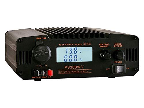 Komerci PS30SWV Festspannungsnetzgerät 30A, 13,8V / 9-15V Schaltnetzteil mit regelbarem Entstörfilter Netzteil Netzgerät