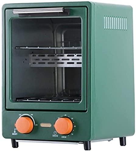 Mini horno eléctrico, 12L Control de temperatura del horno de la tostadora de acero inoxidable 12L 100-230