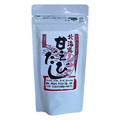 北海道甘えびだし 80g×25 札幌食品サービス 顆粒タイプ 化学調味料無添加