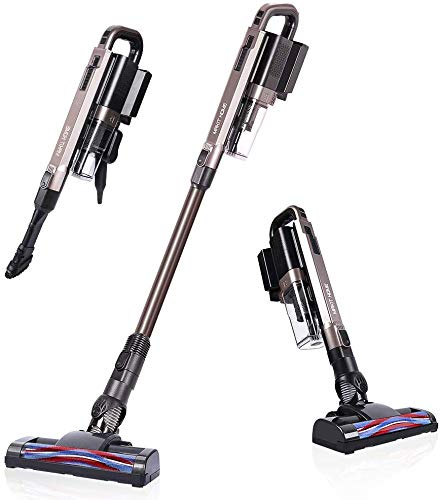 Best Price Cordless Vacuum, 17000 PA Stick Vacuum Cleaner, 2 in 1 Lightweight Rechargeable Cordless ...