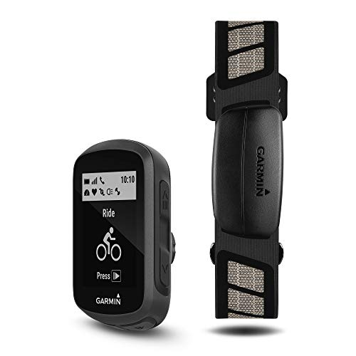 Garmin Edge 130 Plus Bundle, GPS Cycling/Bike Computer with Sensors and HR Monitor, Download Structure Workouts, ClimbPro Pacing Guidance and More (010-02385-10)