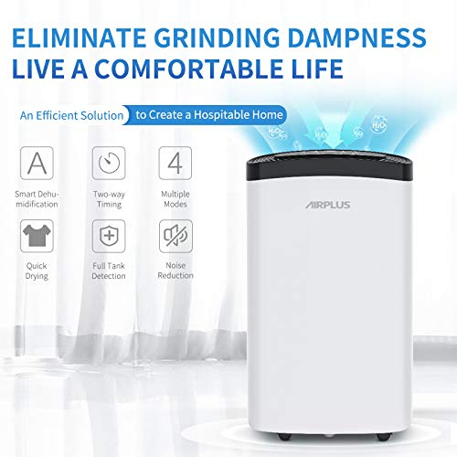 AIRPLUS 30 Pints Dehumidifier - Efficient Dehumidifier