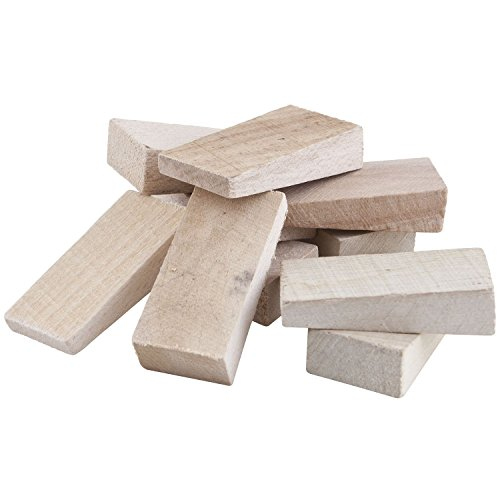 SECOTEC Parkett-Verlegekeile / Boden-Montagekeile Holz / 10 Keile