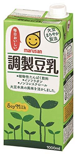 マルサン 調製豆乳 1L×6本 紙パック