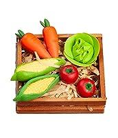 ドールハウス野菜の木枠1:12キッチン八百屋フードショップアクセサリー