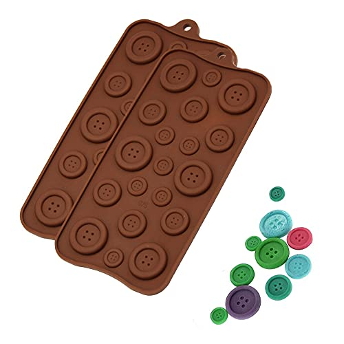 Silicone Cioccolato Mold, 2Pezzi Stampo al Cioccolato,Stampo...
